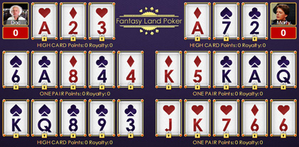 Final hands for chinese poker